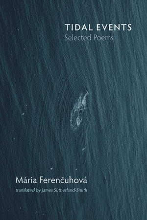 front cover of Maria Ferencuhova - Tidal Events